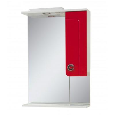 """Зеркало для ванной комнаты """"Элиза-56"""" белое/красное/черное"""