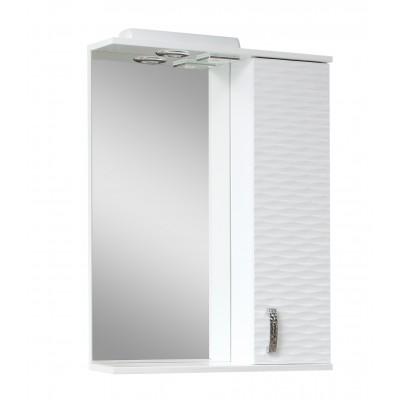 "Зеркало для ванной комнаты ""3D-50"" белое"