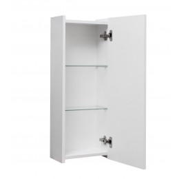 """Шкафчик навесной для ванной комнаты """"Элит-N"""" белый, 30 см."""