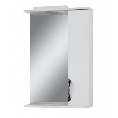"""Зеркало для ванной комнаты """"Лаура-55"""" белое"""