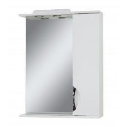 """Зеркало для ванной комнаты """"Лаура-65"""" белое"""