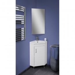 Зеркало для ванной комнаты угловое