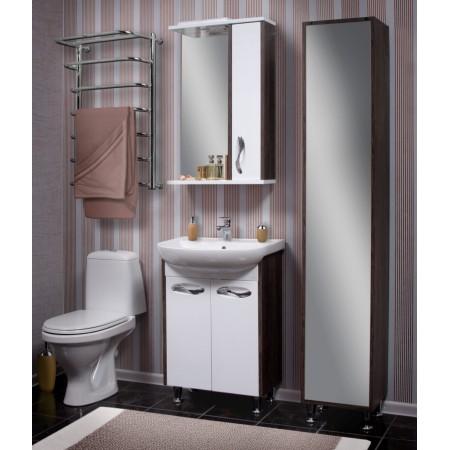 """Зеркало для ванной комнаты """"Сириус-60"""" винтаж с подсветкой"""