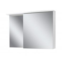 """Зеркало для ванной комнаты """"Славута-120"""" белое"""