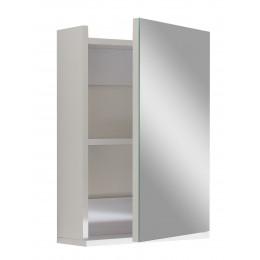 """Зеркало для ванной комнаты """"Оби"""" белое"""