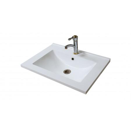 """Раковина """"Элит-80G"""" на тумбу для ванной комнаты"""