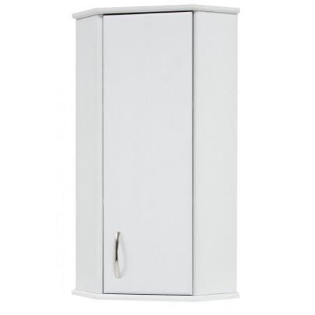 Комод для ванной комнаты угловой KN-4 подвесной белый