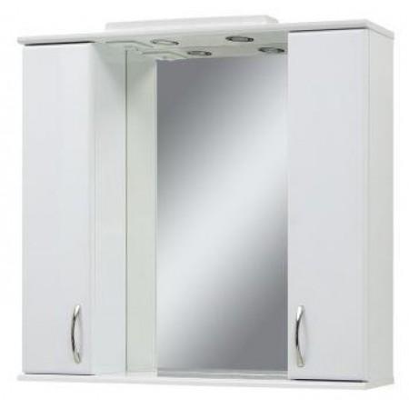 Зеркало для ванной комнаты Z-100 белое с подсветкой