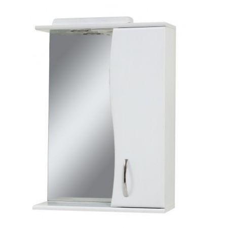 Зеркало для ванной комнаты Z-50-ХВ белое с подсветкой