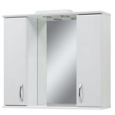Зеркало для ванной комнаты Z-85 белое с подсветкой