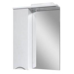"""Зеркало для ванной комнаты """"Марсель-80"""" белое с подсветкой"""