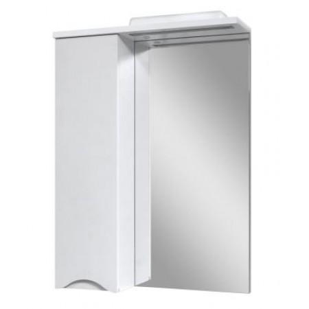 """Зеркало для ванной комнаты """"Марсель-60"""" белое с подсветкой"""
